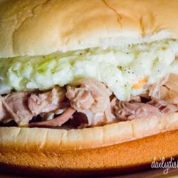 Dill Pork Sandwiches