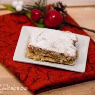 Spiced Gingerbread Gooey Butter Cake
