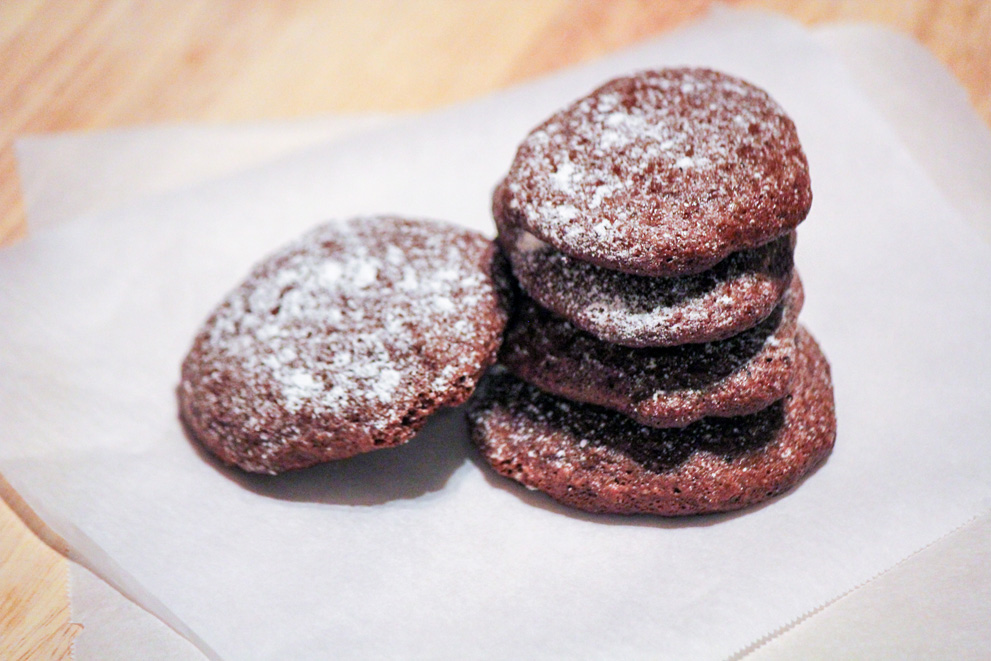 Scories De Vulcans or Lava Stone Cookies
