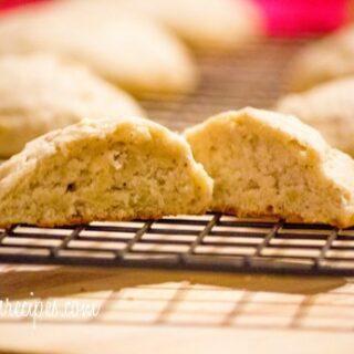 Banana Bread Nutmeg Cookies
