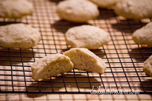 Banana Nutmeg Cookies 1