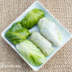 Cabbage Rolls with Leftovers