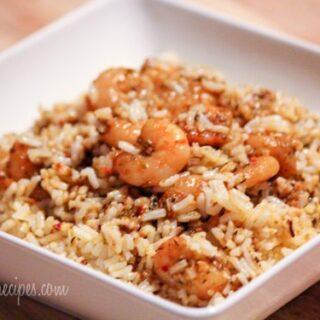 Easy Italian Herb Shrimp Pilaf