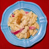 Chicken Cordon Blue Pasta