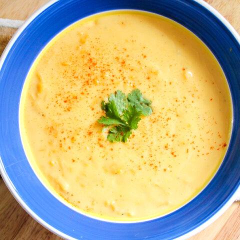 Creamy Cheddar Potato Soup