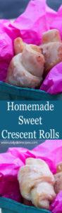 Homemade Sweet Crescent Rolls