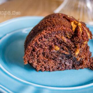 Reese's Chocolate Peanut Butter Bundt Cake