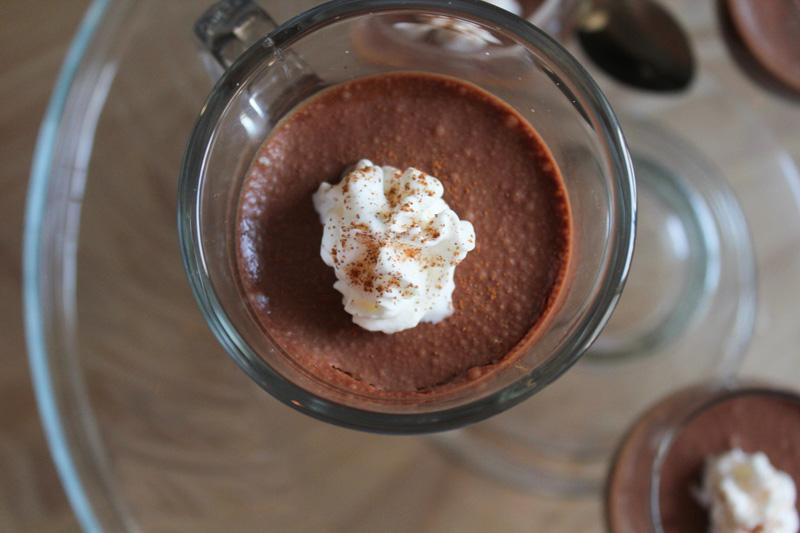 Chocolate Hazelnut Mousse mousse au chocolat