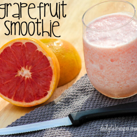 Grapefruit Smoothie | Refreshing and Delicious