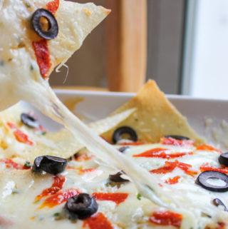 Italian Nachos | Cheesy, Italian Goodness
