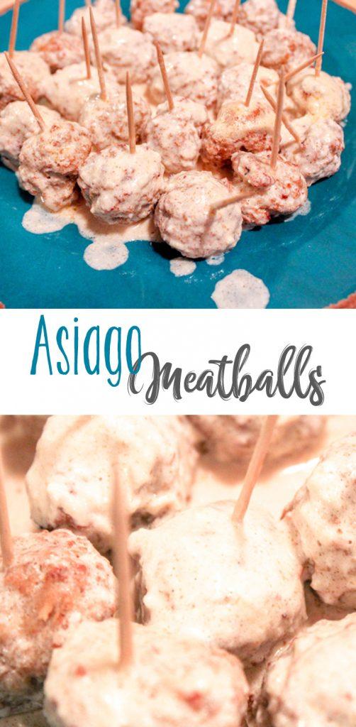 Asiago Meatballs