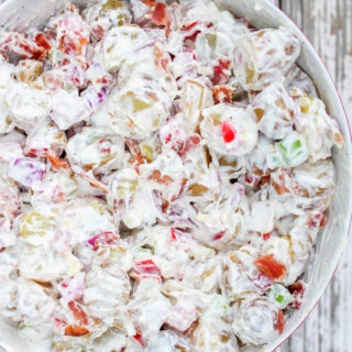 Bacon Potato Salad for a Budget Friendly BBQ