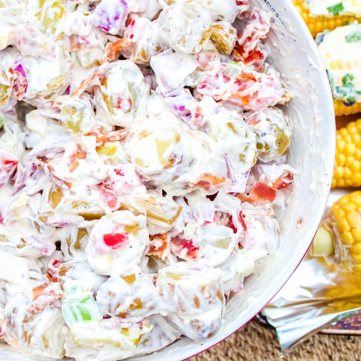 Bacon Potato Salad for a Budget Friendly BBQ
