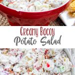 Creamy Bacon Potato Salad for a Budget Friendly BBQ Pinterest