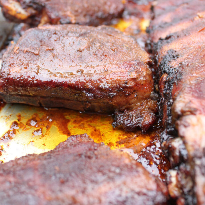 Easy Marinated Pork Ribs