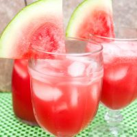 Watermelon Agua Fresca {with a Twist}