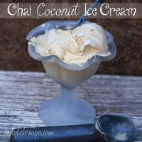 Chai Coconut Ice Cream 1