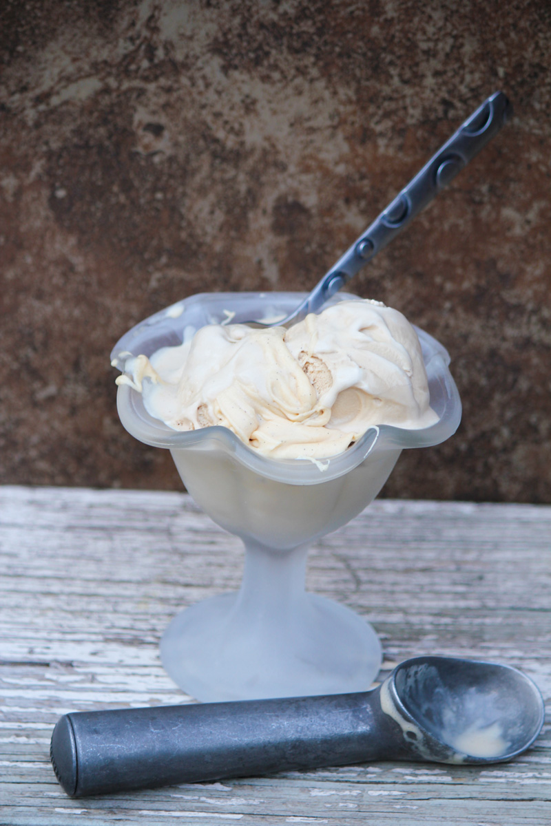Chai Spice Coconut Ice Cream