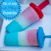 Fruit and Yogurt Popsicles | Fourth of July Recipes