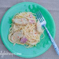 Skinny Chicken Cordon Bleu Pasta – Healthy Comfort Food