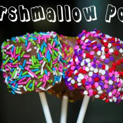 marshmallow pops