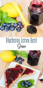 Blueberry Lemon Basil Jam   Daily Dish Recipes