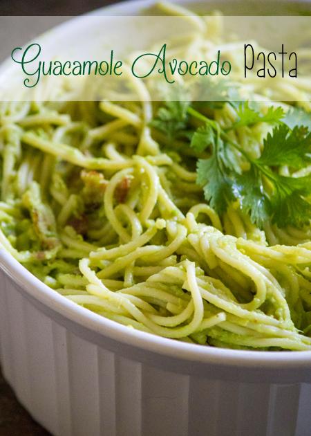 Guacamole Avocado Pasta