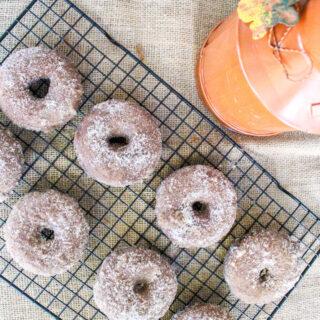 Pumpkin Spice Latte Donuts