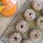 Pumpkin Spice Latte Donuts #SundaySupper