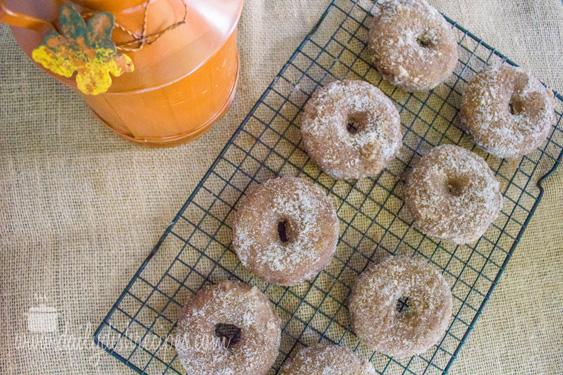 Pumpkin Spice Latte Donuts PSL