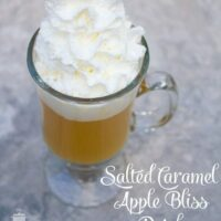 Hot Salted Caramel Apple Bliss Drink