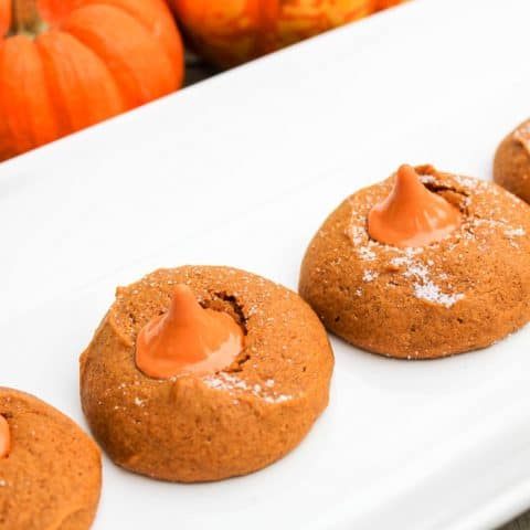 Pumpkin Kiss Cookies