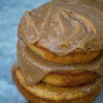 Baked Caramel Apple Cider Donuts #SundaySupper