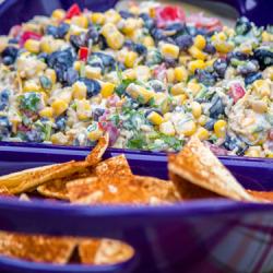 Corn and Bean Dip