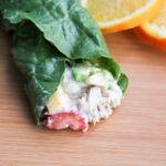 Fruit and Tuna Lettuce Wrap