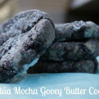Kahlúa Mocha Gooey Butter Cookies