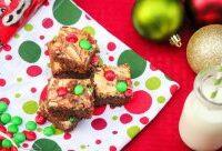 Marbled Cheesecake Brownies