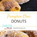 Pumpkin Chai Donuts