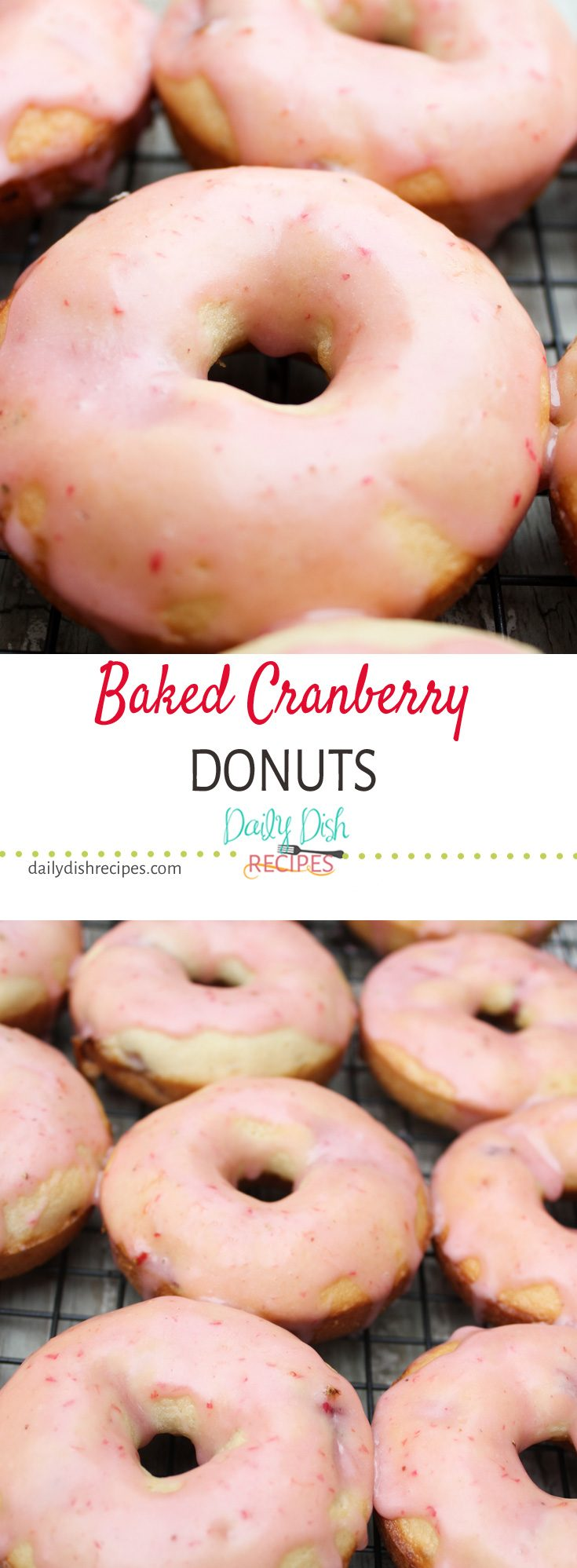 A wonderfully light, sweet cranberry flavor makes these perfect for a holiday brunch!