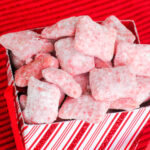 Candy Cane Peppermint Puppy Chow