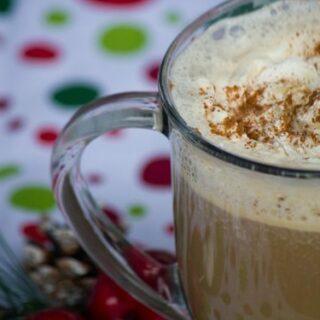 Gingerbread Chocolate Mocha Latte