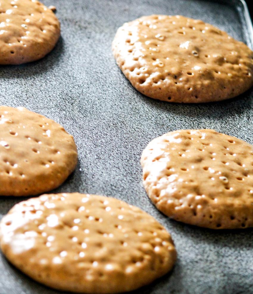 Lemon Grass Ginger Pancakes