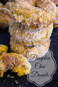 Pumpkin-Chai-Donuts