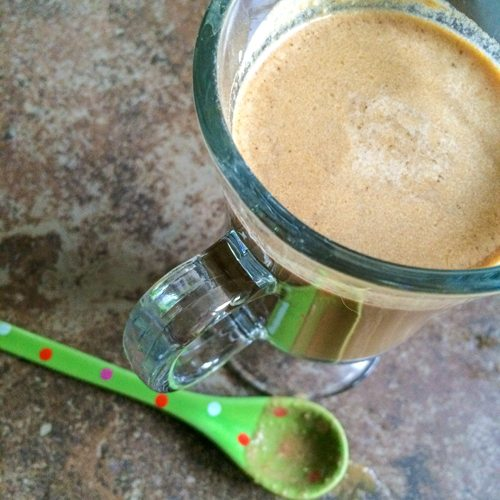 Chocolate Cinnamon Coconut Milk Latte and In The Kitchen with My Teen