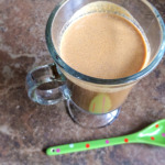 Chocolate Cinnamon Coconut Milk Latte and In The Kitchen with My Teen #OutoftheKitchen #Epicurious