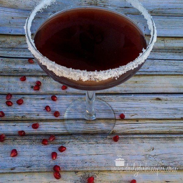 Pomegranate Margarita for National Margarita Day
