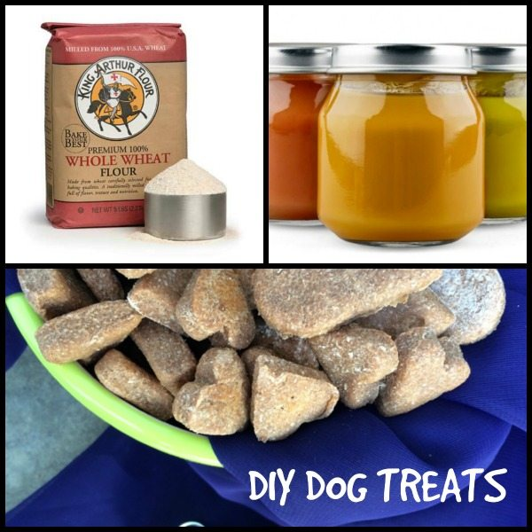 Diy Homemade Dog Treats Two Ingredient Recipes