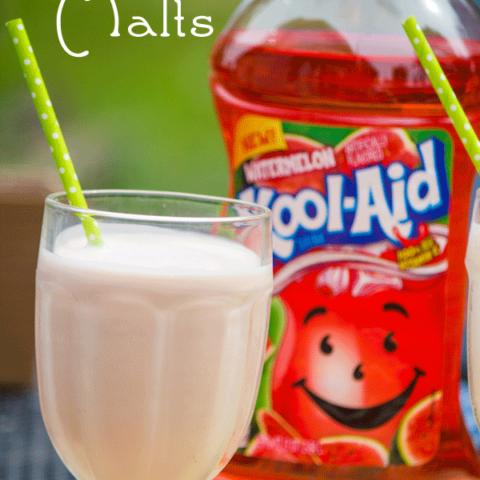 Watermelon Kool-Aid Malts