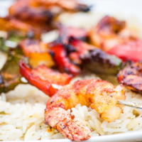 Shrimp and Bell Peppers