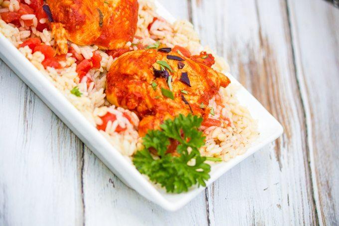 Summer Recipes: Basil Tomato Butter Chicken